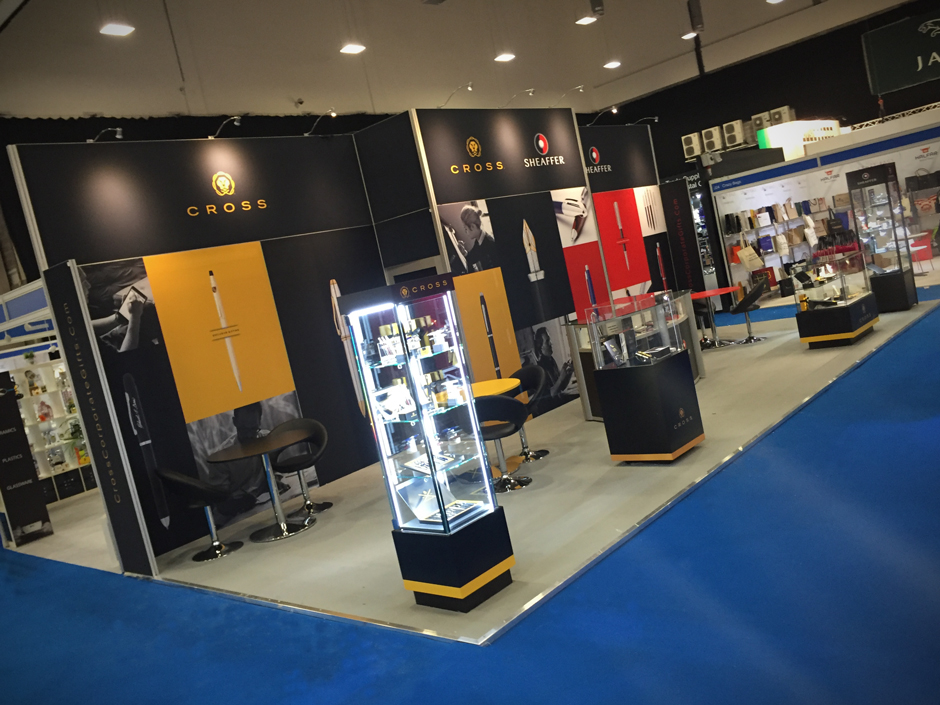 Exhibition Stand Brief : Cross pens ppe pinnacle creative