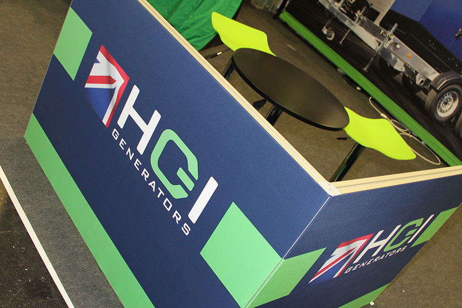 Tension Fabric Exhibition Stands : Hgi generators executive hire pinnacle creative