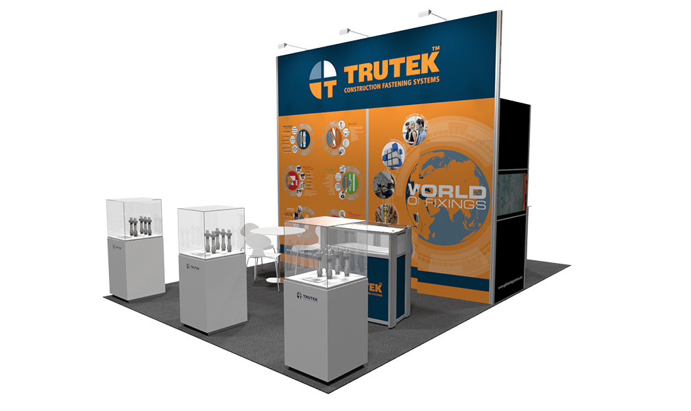 Fabric Exhibition Stand Job : Tension fabric exhibition stands pinnacle creative